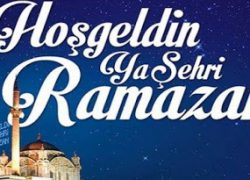 Başkan Ünlü'den Ramazan Ayı Kutlama Mesajı;